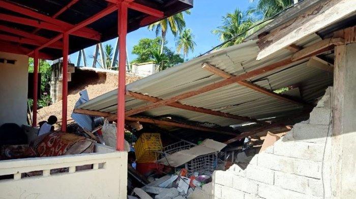 Abutment Jembatan di Manggeng Ambruk, BPBK Abdya Janji Segera Menangani