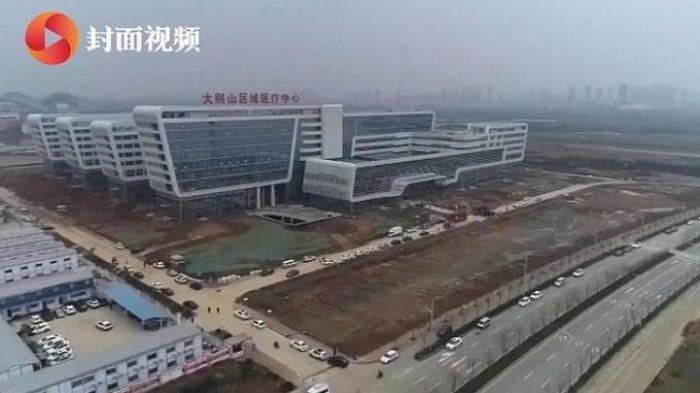 RS Khusus Corona Dibuka, Hanya Butuh 2 Hari Bagi China untuk Ubah Bangunan Kosong jadi Pusat Medis