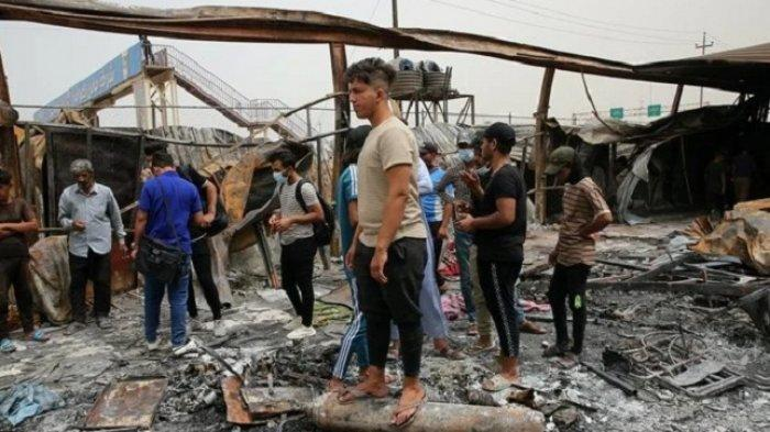 Kebakaran Rumah Sakit Irak Sudah Seperti Neraka, Dokter Kewalahan, Varian Delta Mulai Menyerang