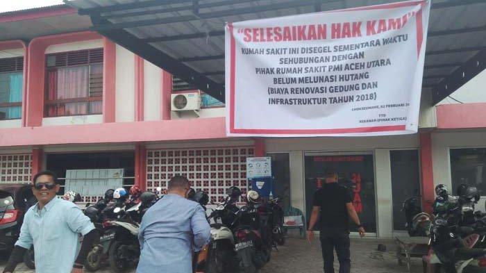 Aktivitas RS PMI Aceh Utara Terhenti