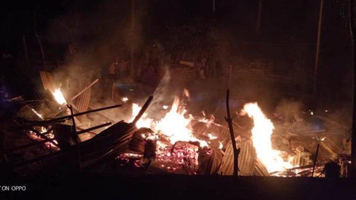 Satu Rumah Serta Seisinya di Beurandang Ludes Terbakar, Termasuk 2 Sepmor, Begini Kejadiannya
