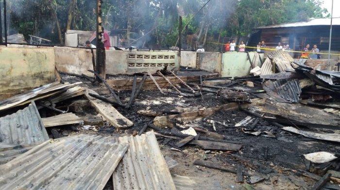 Hanya Satu Keluarga Korban Kebakaran di Kualasimpang yang Masih Bertahan di Tenda Pengungsian