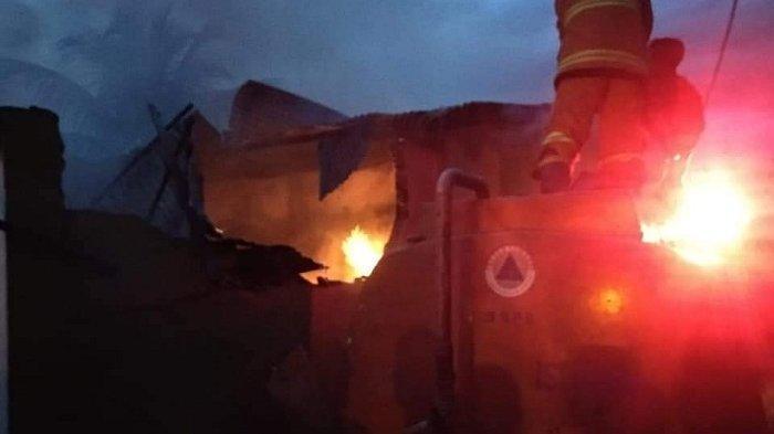 Dua Rumah Terbakar di Desa Kutacane Lama Aceh Tenggara Saat Magrib, Begini Kondisinya
