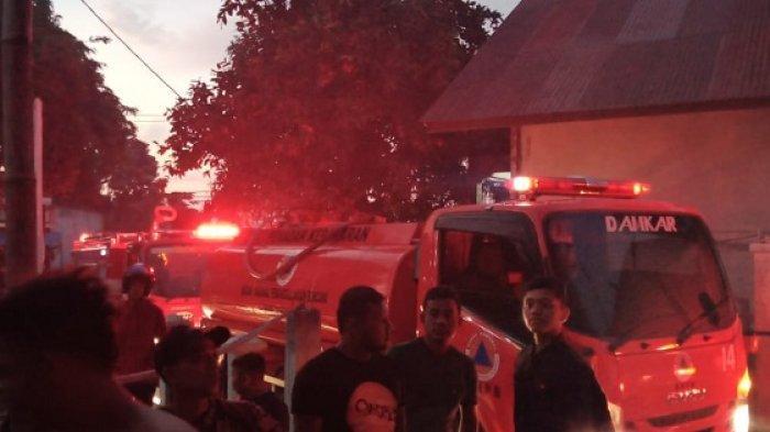 Dua Rumah Warga Lambro Bileu Aceh Besar Terbakar, Satu Unit Becak Motor Ikut Hangus