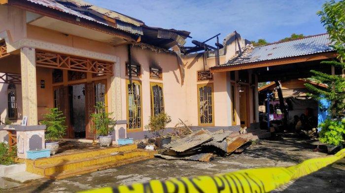 Rumah PNS Langsa di Lhoek Banie Hangus Terbakar, Korban Hanya Bisa Selamatkan Diri