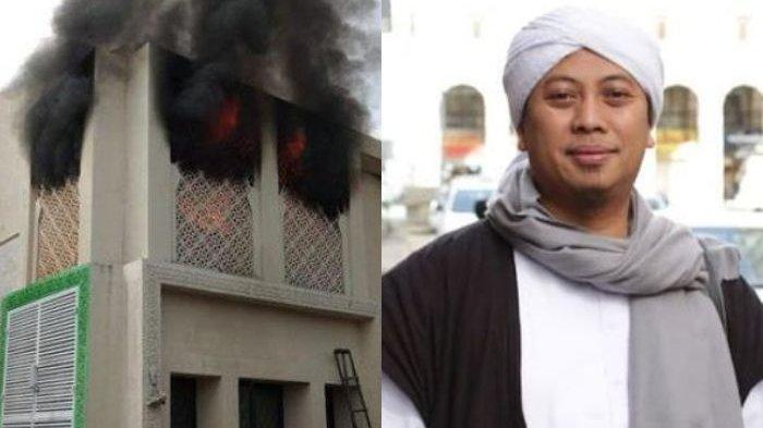 Rumah Umat Tombo Ati Terbakar dan Diperkirakan Rugi Rp 300 Juta, Opick Tetap Bersyukur