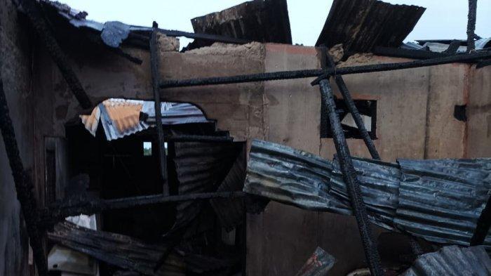 Dini Hari, Lima Rumah Warga Abdya Hangus Dilalap 'Si Jago Merah'
