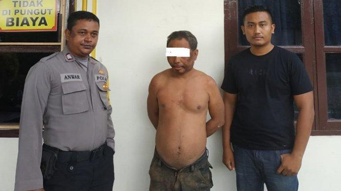 Kepergok Curi Sepmor di Cot Girek Aceh Utara, Massa Kejar Pria Ini, Hajar Hingga Ikat Dipohon