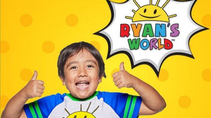 Ryan Kaji, Bocah 9 Tahun yang Jadi YouTuber Berpenghasilan Tertinggi Tahun 2020, Ini Profilnya