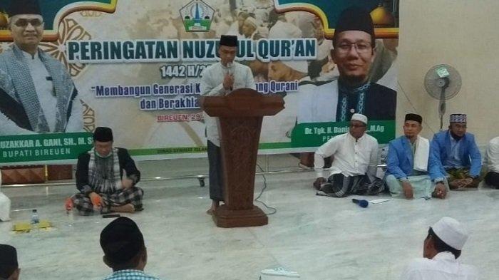 Pemkab Bireuen Peringati Nuzulul Quran di Masjid Agung