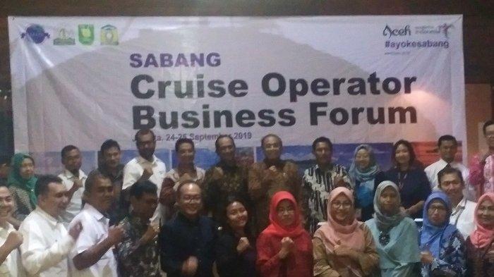 BPKS Adakan Pertemuan Bisnis Operator Kapal Pesiar Negara IMT-GT di Sabang
