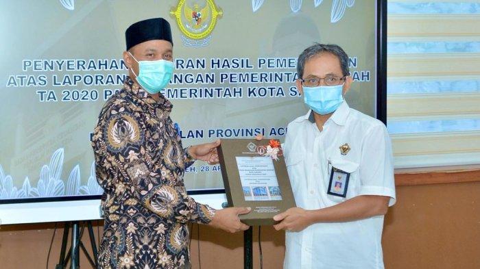 BPK Aceh Sudah Serahkan Laporan Hasil Pemeriksaan Keuangan 6 Kabupaten/Kota, 3 Daerah Ini Menyusul
