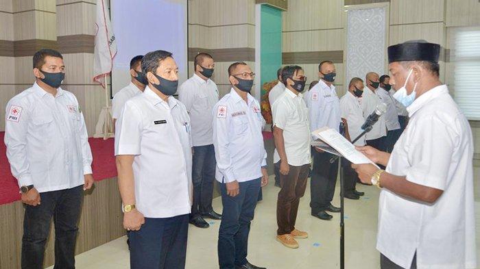 Suradji Junus Terpilih sebagai Ketua PMI Kota Sabang