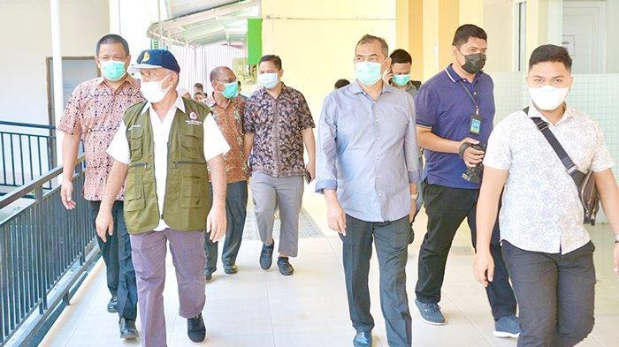 Sekdako Sabang dan Sekda Aceh Pantau Vaksinasi Nakes di Kota Sabang