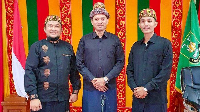 Tim Perwakilan dari Gampong Aneuk Laot Sabang sedang mengikuti penjurian Kompetisi Desa Wisata Award 2021 yang diselenggarakan oleh PT. Bank Central Asia (BCA) berkolaborasi dengan Kementerian Pariwisata Indonesia secara daring, Jumat (3/9/2021).
