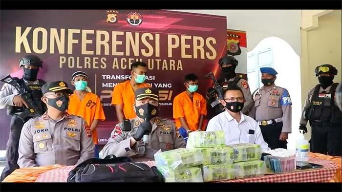Begini Alur Masuknya 45 Kg Sabu dari LN ke Aceh, Dua Kurir Menjemput di Perbatasan Tiga Negara