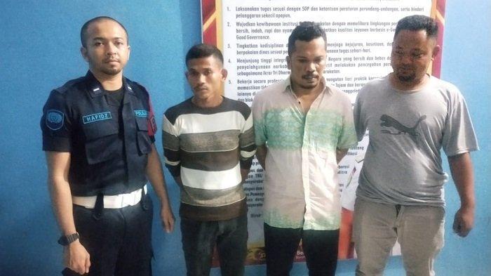 Lapas Narkotika Serahkan Pelaku Penyelundupan Sabu dan Barang Bukti ke Polres Langsa