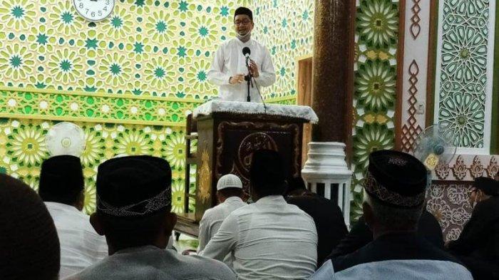 Ceramah Safari Ramadhan 1442 Hijriah Pemerintah di Abdya,Tgk Rusli: Program BEREH Tangkal Muzarat