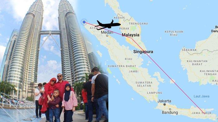 Fakta Nyata, Pergi ke Surabaya via Kuala Lumpur, Keluarga Aceh Ini Bisa Hemat Biaya Rp 32 Juta