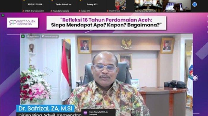 Dirjen Bina Adwil Kemendagri Safrizal ZA Sebut UUPA Produk PalingProgresif, Seluruh Aceh Kompak