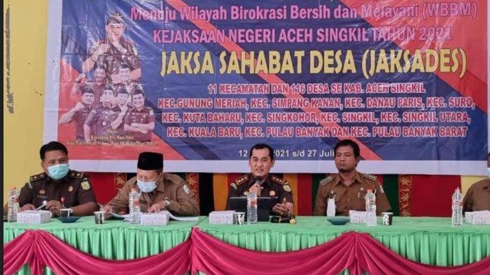 82 Desa di Aceh Singkil Jadi Sahabat Jaksa