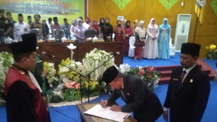 Sah Jadi Ketua DPRK Aceh Tamiang, Suprianto Minta Dukungan Seluruh Anggota Dewan
