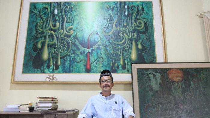 Mengenal Said Akram, Maestro Kaligrafi Kontemporer Asal Aceh yang Karyanya Mendunia
