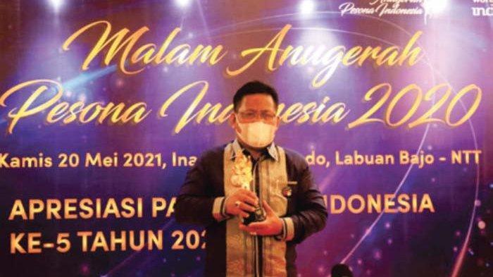 Wali Kota Terima Award Anugerah Pesona Indonesia Terpopuler 2020