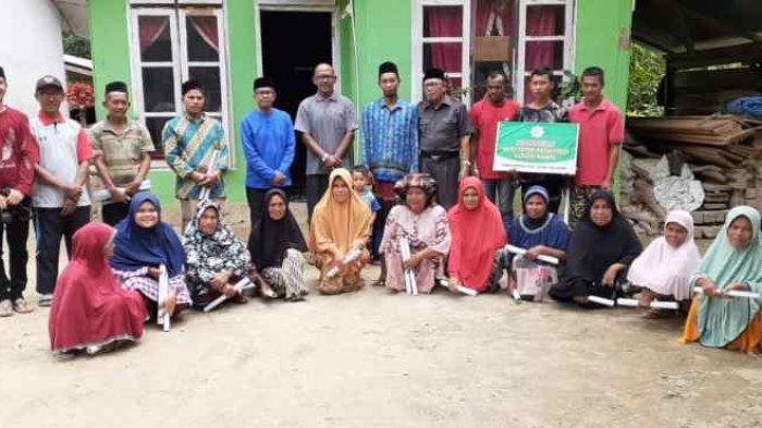 Perjalanan Menantang Baitul Mal Aceh Selatan Salur ZIS ke Alue Kejrun,3 Jam Naik Boat Melawan Arus
