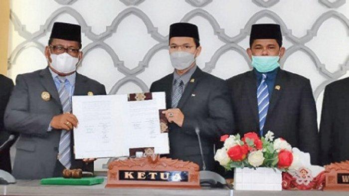 Wali Kota dan Ketua DPRK Banda Aceh Teken Kesepakatan KUA-PPAS 2022