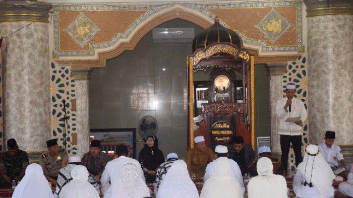 Rombongan Jamaah Haji Aceh Singkil Tiba di Kampung Halaman