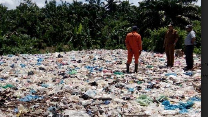 Pemindahan Sampah dari Tamiang Hulu ke TPS Membutuhkan Waktu Tiga Hari