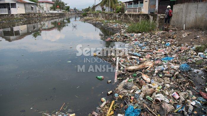 Banyak Sampah di Krueng Lampaseh, Ini Tanggapan Dinas Kebersihan Kota Banda Aceh
