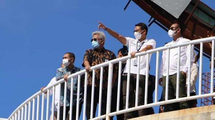Sandiaga Uno Kunjungi Sejumlah Objek Wisata di Sabang, Dorong BPKS & Pemko Gelar Even Internasional