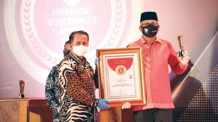 Aceh Terima Innovative Government Award 2020