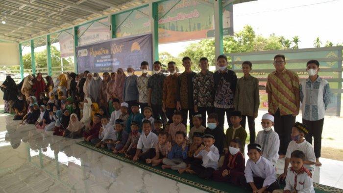 Santri RIAB Aceh Besar asal Aceh Utara Gelar Pesantren Kilat di Bireuen