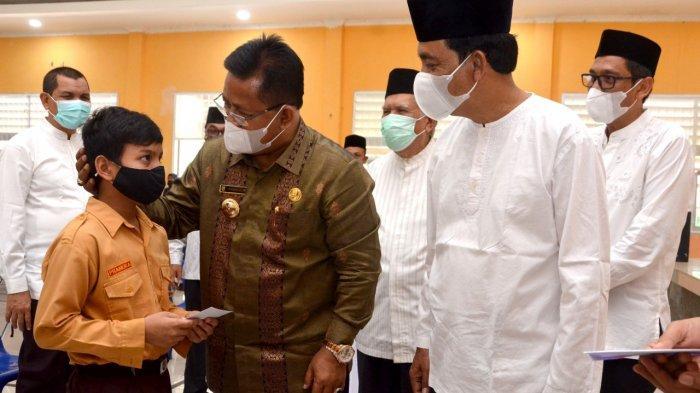 1.469 Siswa SD & SMP di Banda Aceh Dapat Santunan dari Disdikbud,Wali Kota Beri Apresiasi