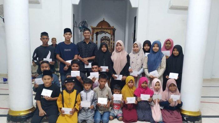 Alhamdulillah! Setiap Anak Yatim di Kemukiman Blang Mee Lhoong, Aceh Besar Dapat Rp 1.120.000