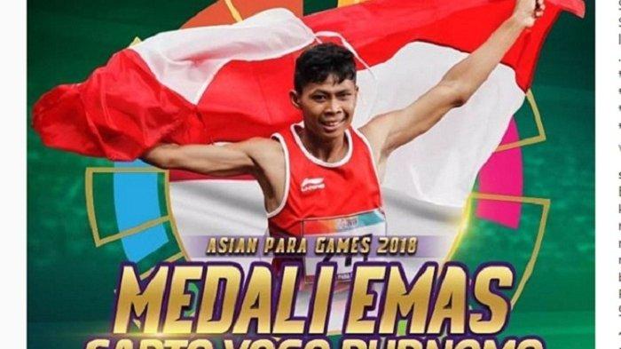 Klasemen Perolehan Medali Asian Para Games 2018, Indonesia Peringkat 6 dengan Raihan 8 Emas