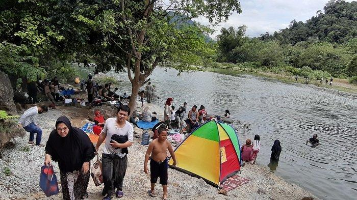 Lokasi Wisata Alam di Leupung Aceh Besar Ramai Pengunjung