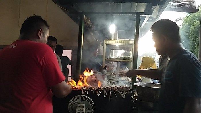 Sate Matang Haji Syam Cureh, Sudah Ada Sejak Puluhan Tahun Lalu, Setiap Hari Ramai Pengunjung