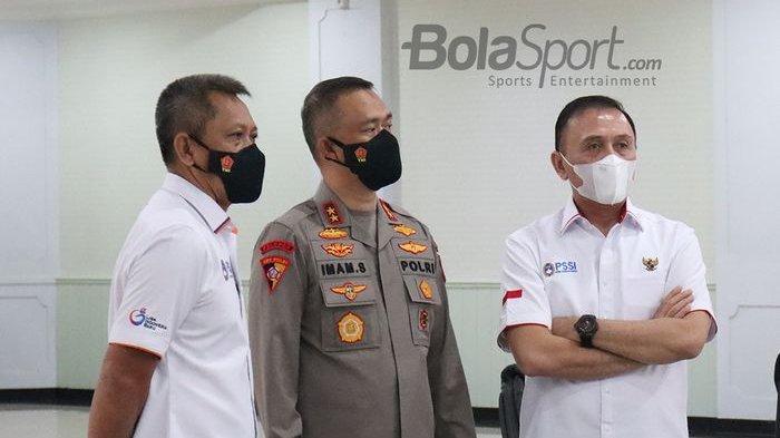 PSSI Jalin Kerjasama dengan Polri, Iwan Bule: Satgas Antimafia Bola Kembali Dilanjutkan