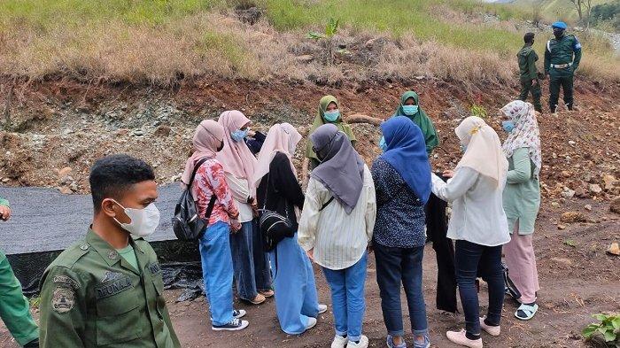 Berbusana tak Sesuai Syariat & tidak Bermasker, 16 Pengunjung Objek Wisata Dijaring, Ini Sanksinya