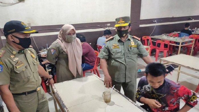 Satpol PP Aceh Besar Razia Masker di Warung Kopi dan Kafe, Temukan Fakta Miris Ini di Lapangan