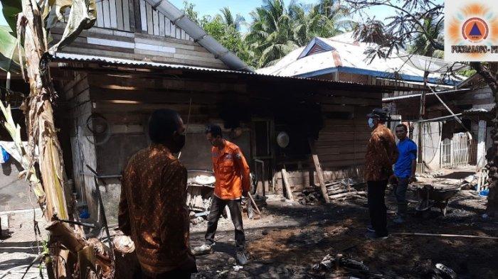 Satu Rumah di Pulo Awe Terbakar, Ini Dugaan Penyebab dan Kronologis, BPBD Bireuen Serahkan Bantuan