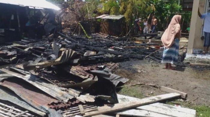BREAKING NEWS - Tiga Rumah di Lancok-Lancok Bireuen Terbakar, Satu Lagi Terpaksa Dirusak