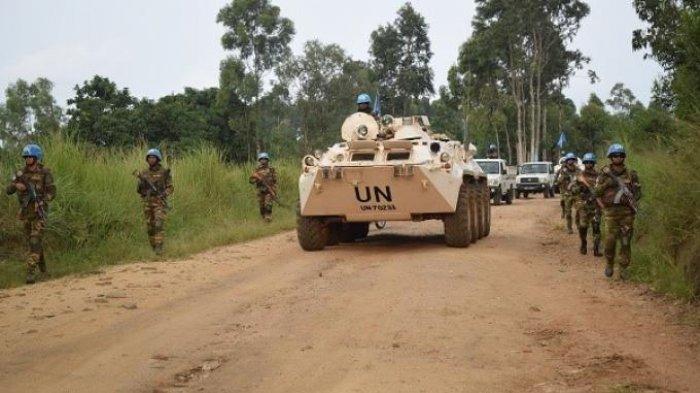 Diserang Milisi, Satu Anggota TNI Pasukan Perdamaian PBB Gugur di Kongo, Satu Lainnya Luka