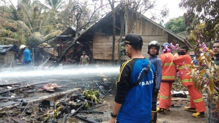 Satu Unit Rumah di Peusangan Selatan, Bireuen Ludes Terbakar, Enam Jiwa Kehilangan Tempat Tinggal