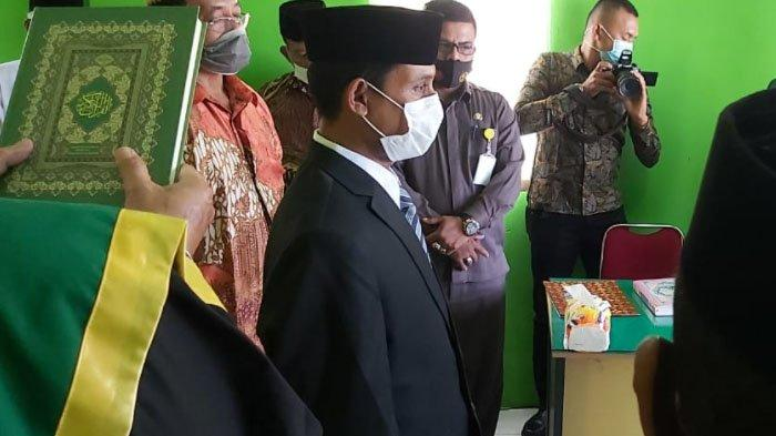 Sayed Usman Dilantik Jadi Anggota Komisioner Baitul Mal Pidie, PAW Gantikan T Irwani