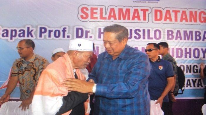 Bertemu Abu Kuta Krueng, SBY: Kami Dulu Bekerja Bersama Wujudkan Perdamaian